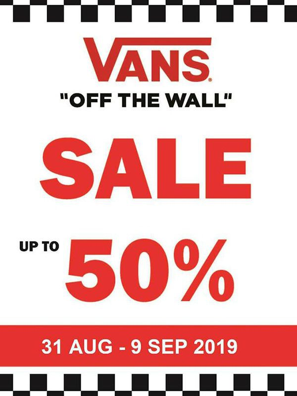 Vans Sale up to 50%